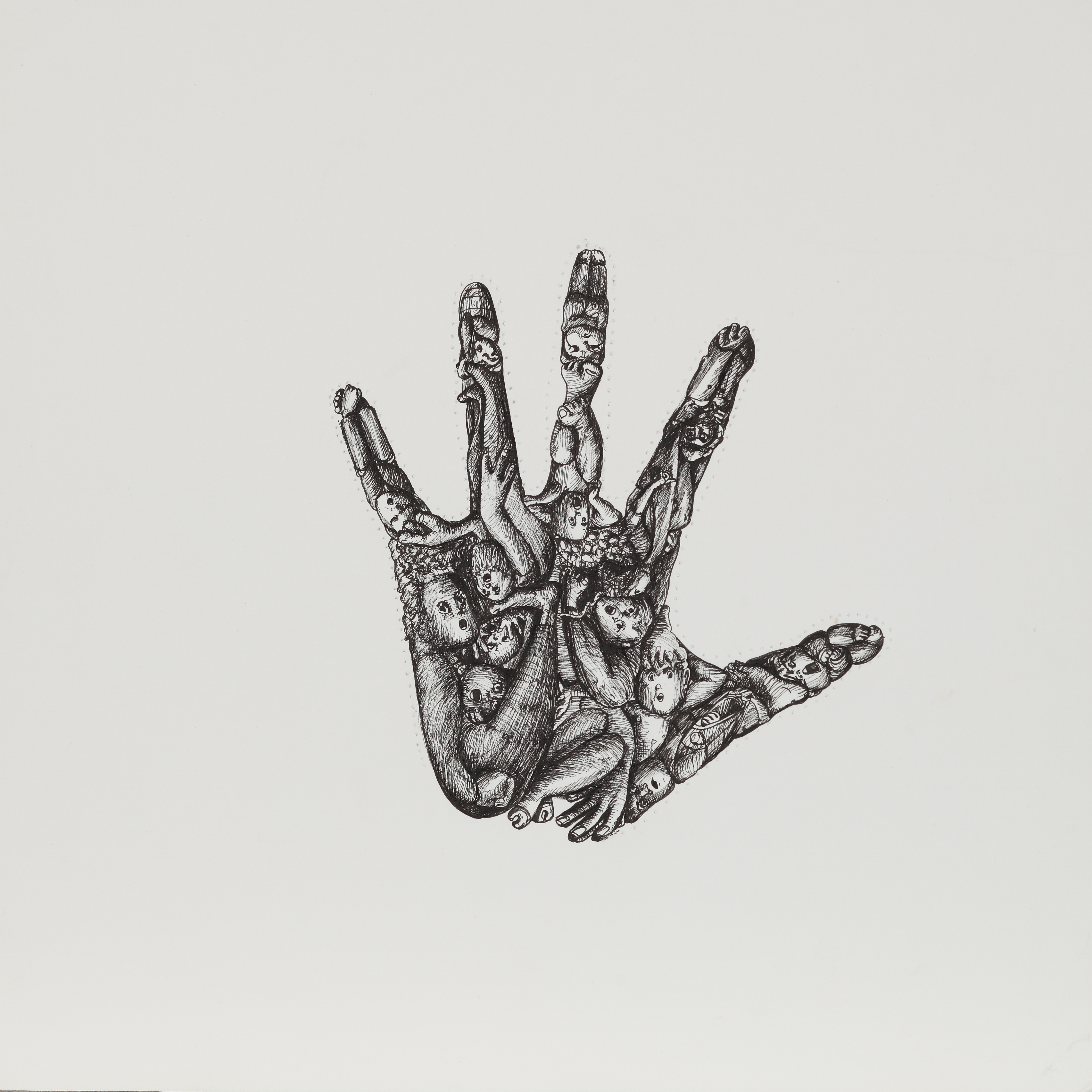 HAND OF THE ARTIST